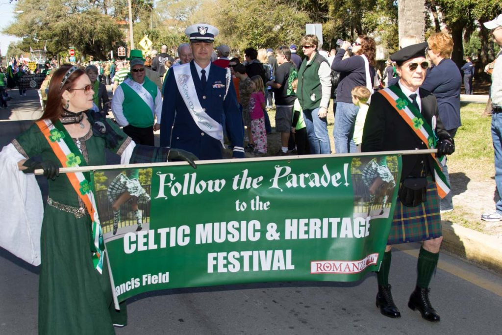 celtic music and heritage festival parade