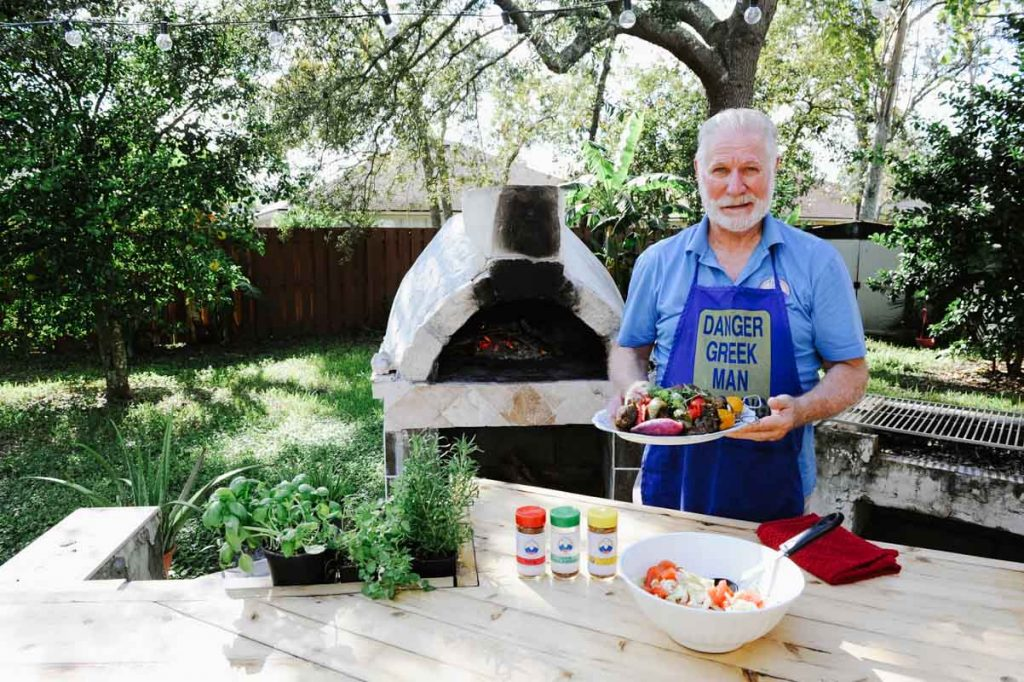 bill lulias of florida greek guy seasoning