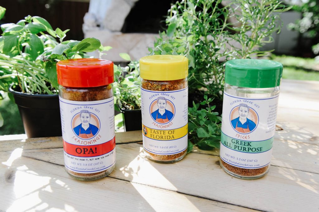 florida greek guy seasonings