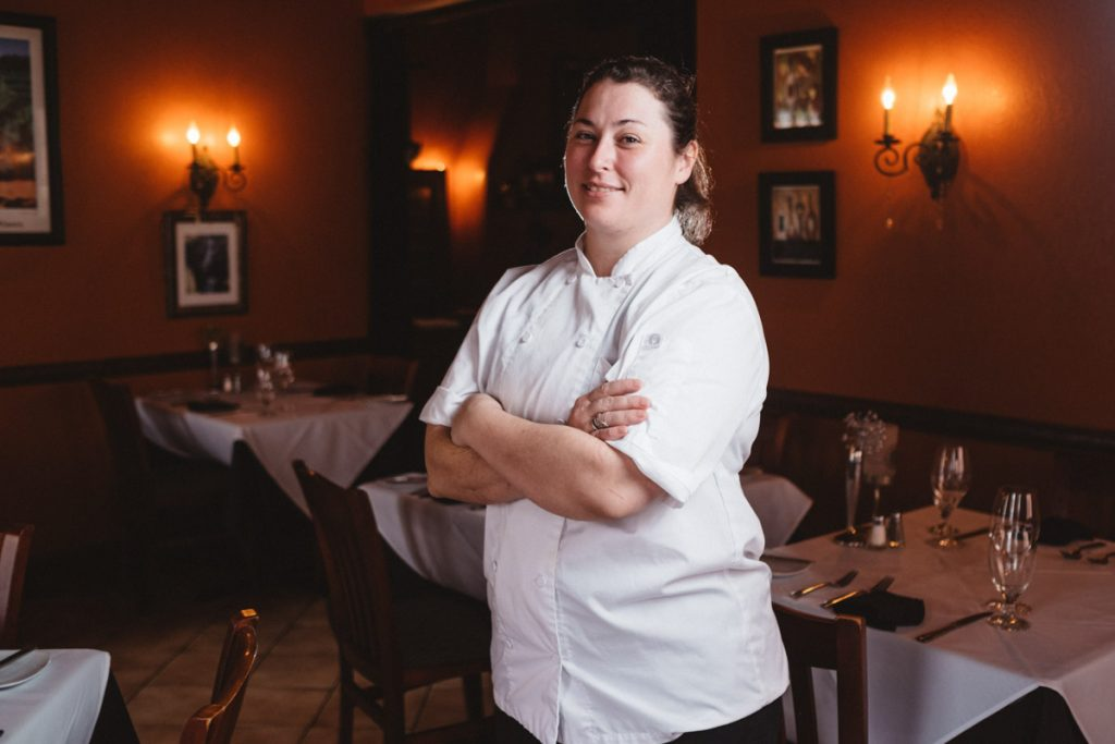 chef natanja de beer of collage st augustine