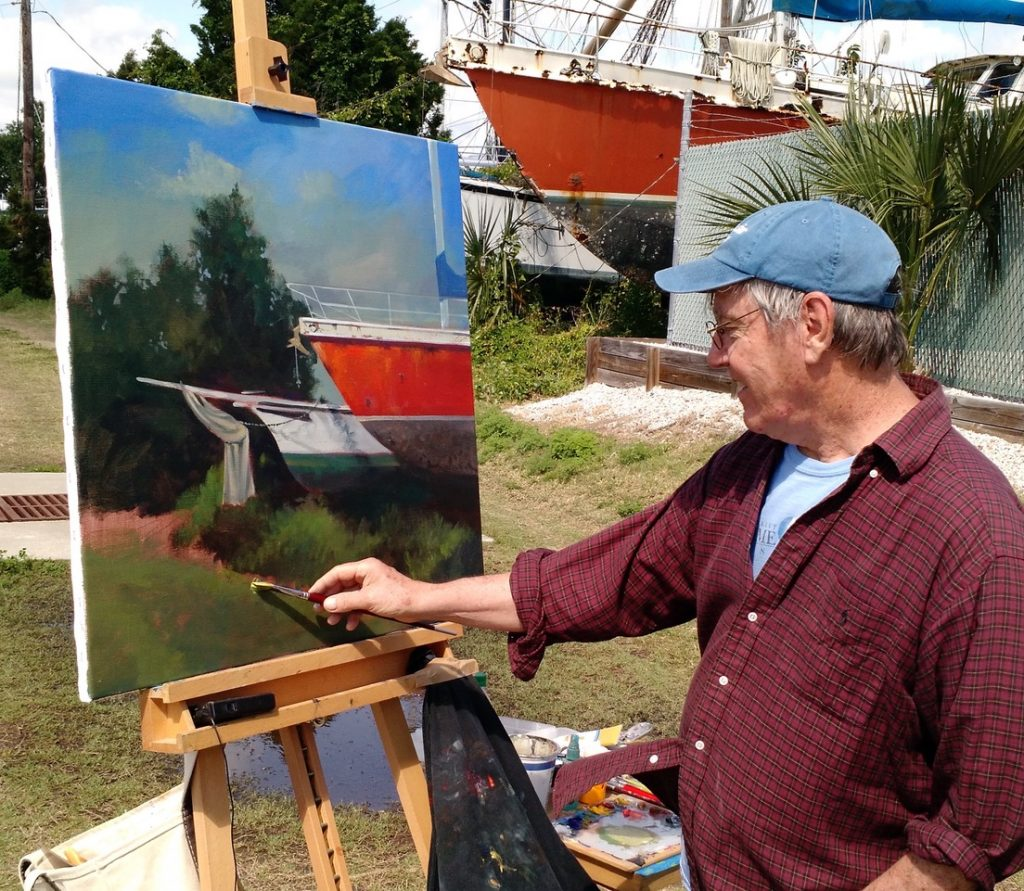 st augustine plein air paint out 2019