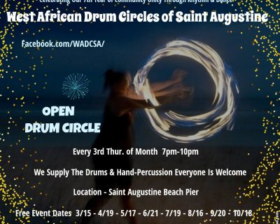 West African Drum Circle of St. Augustine