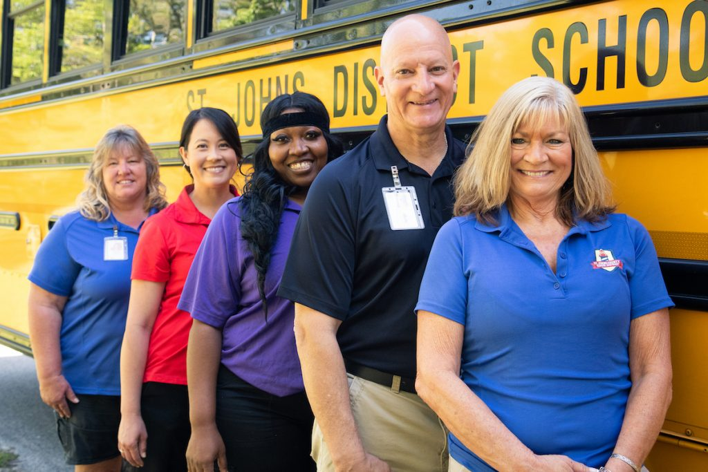 st johns county in search of bus drivers