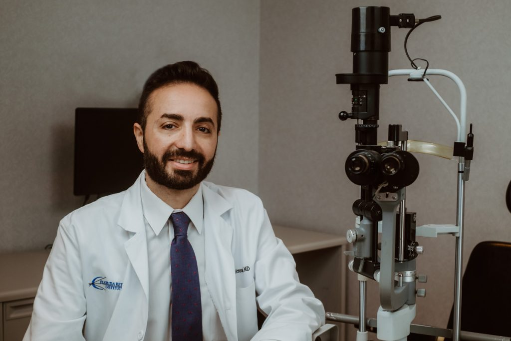 dr abdallah jeroudi of the florida retina institute st augustine