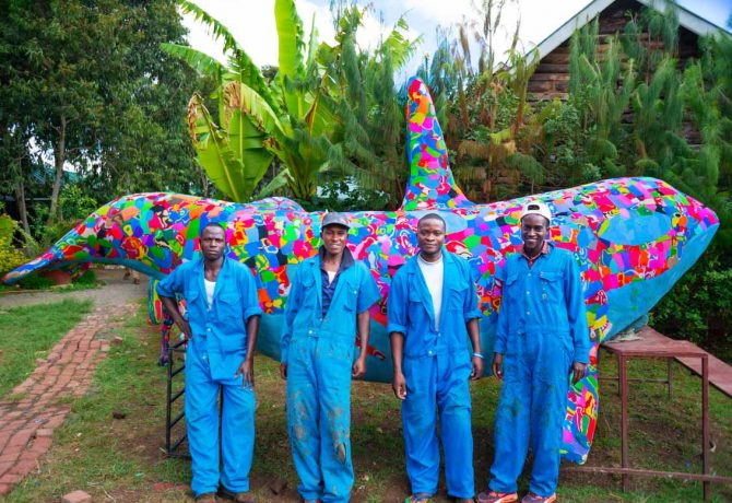 ocean sole africa art and employees