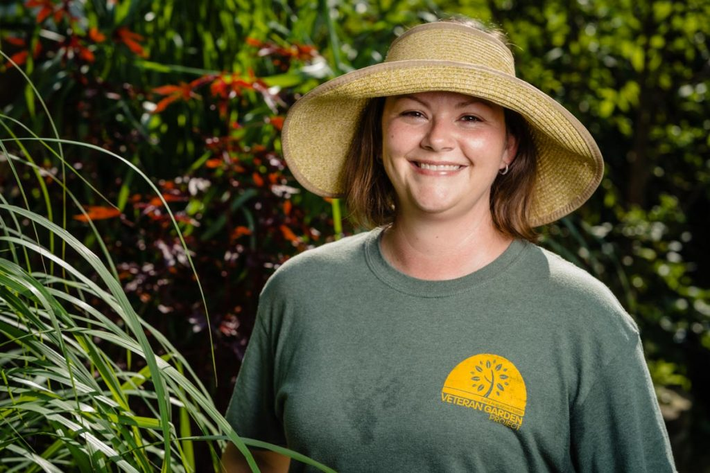 crystal timmons of the veteran garden project st augustine