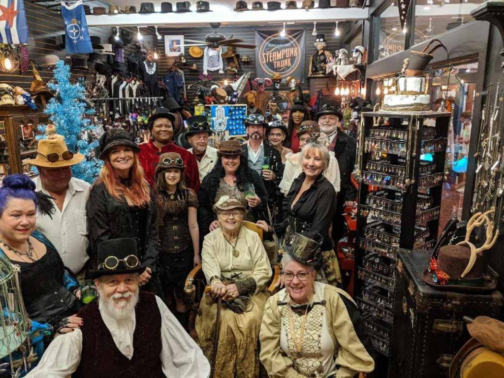 event at aunt matilda's steampunk trunk st augustine