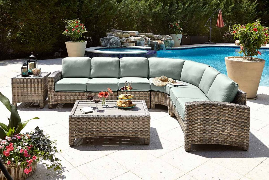 poolside outdoor furniture at coastal casual st augustine