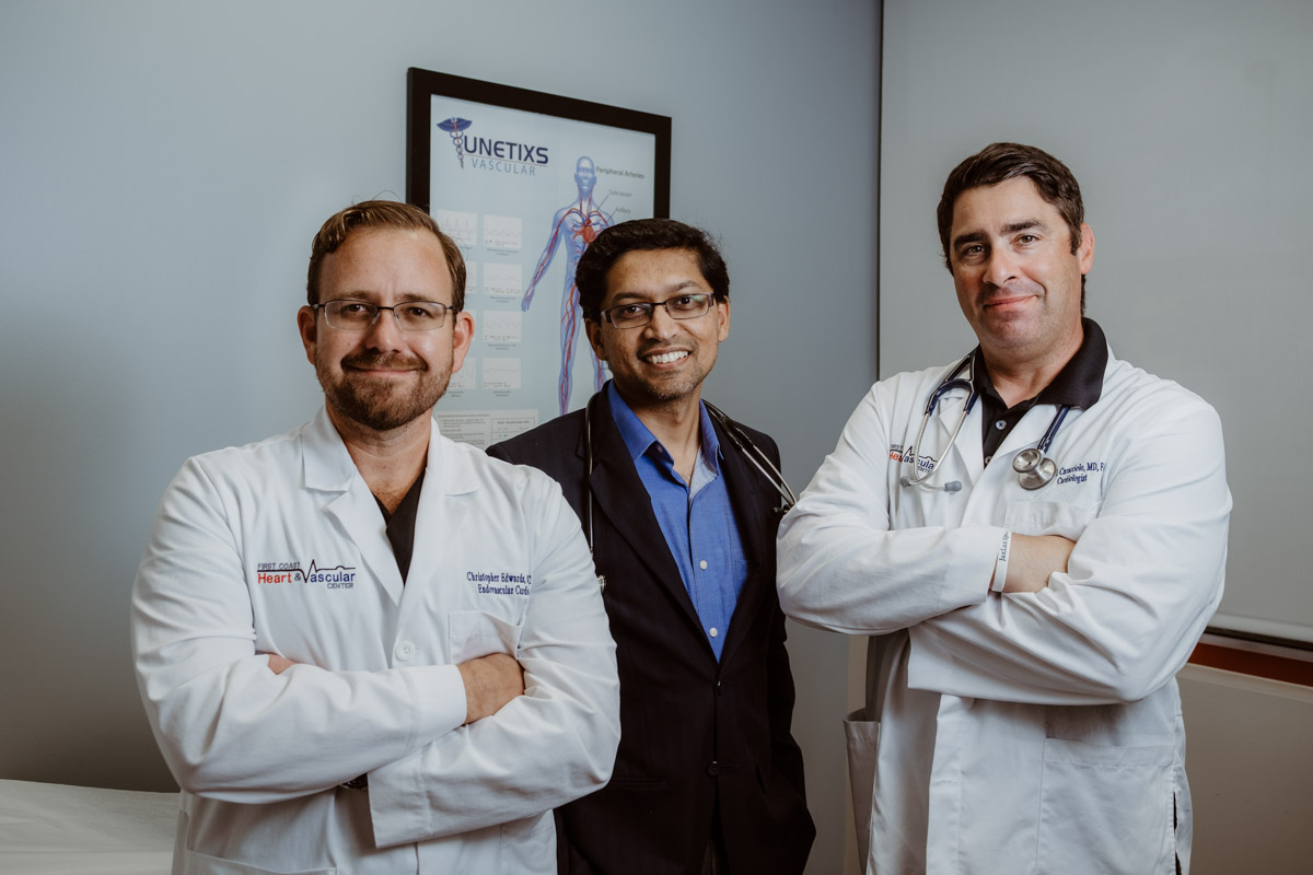 the doctors at first coast heart and vascular center