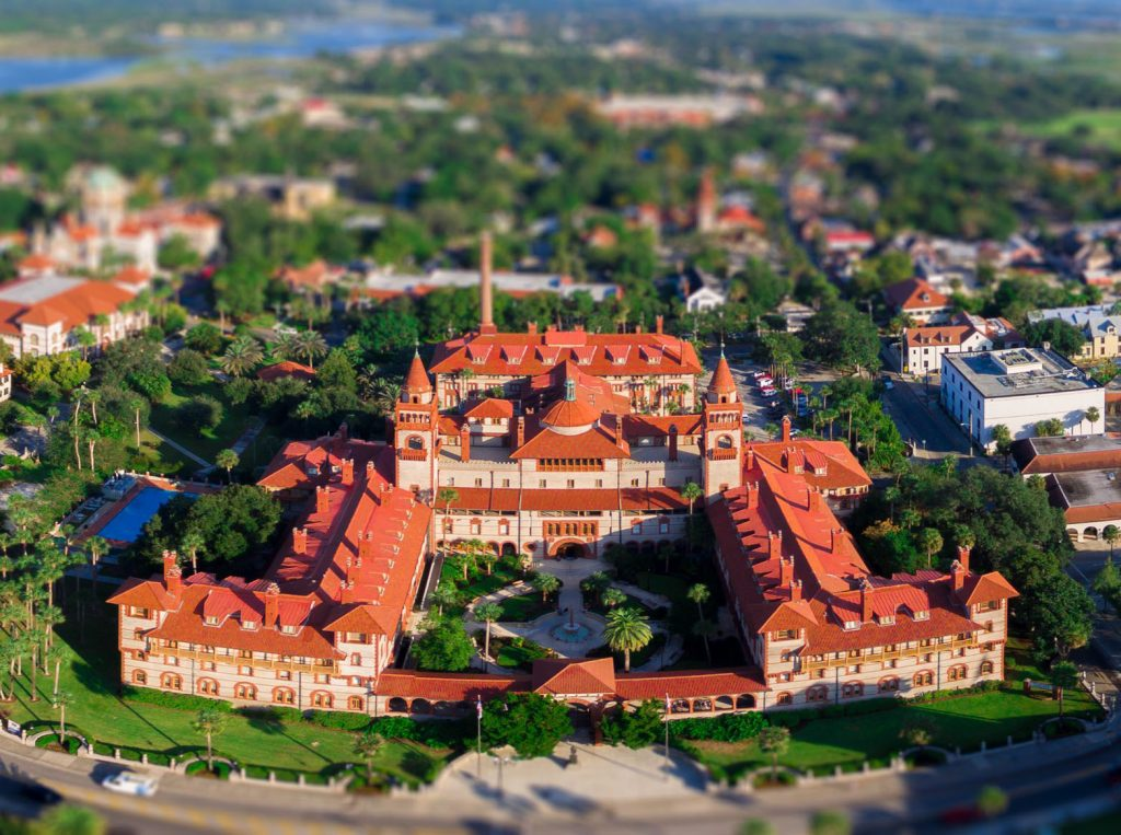 flagler college aerial photography