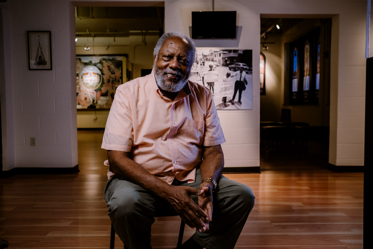 floyd phillips of the lincolnville museum in st augustine
