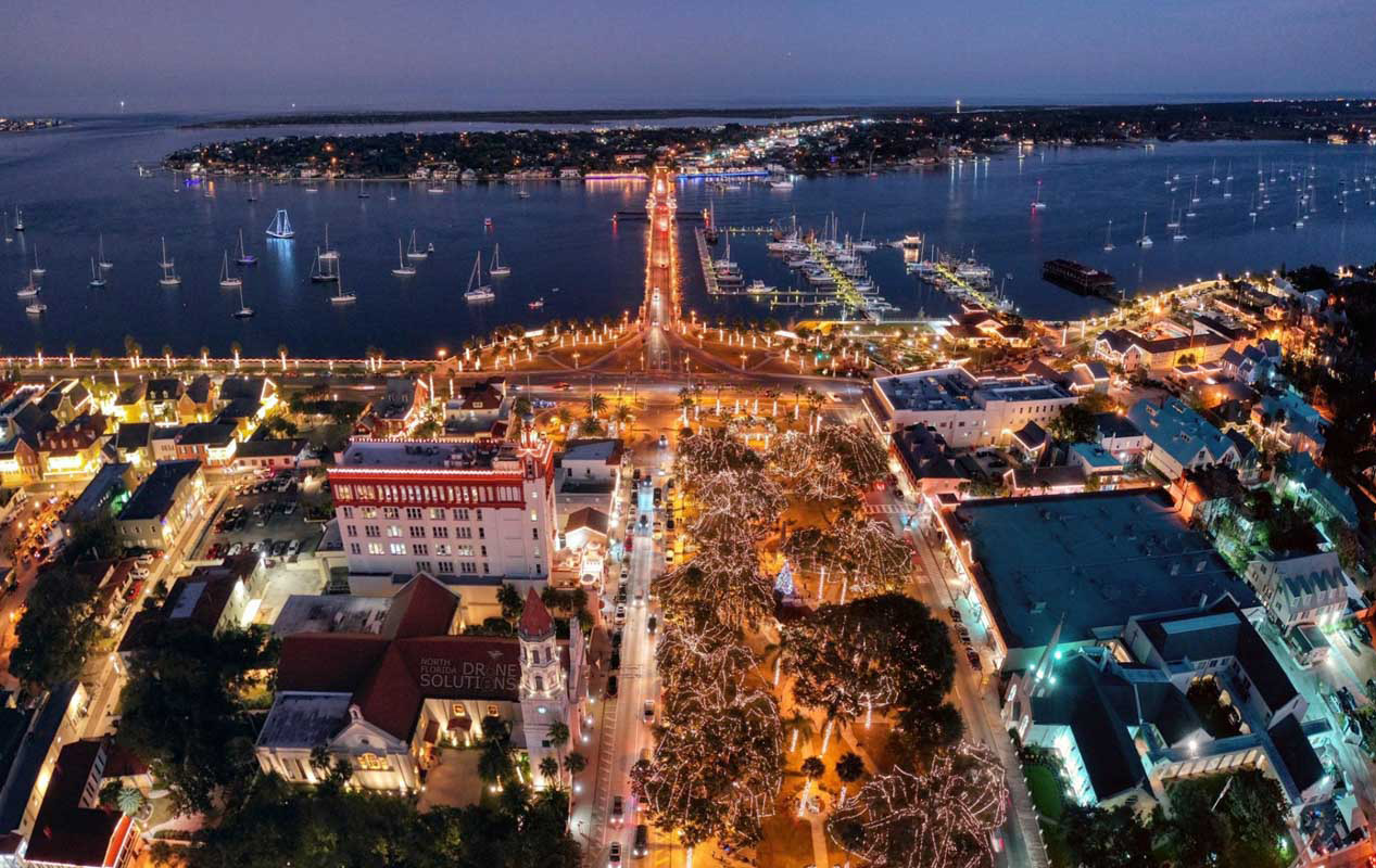 15 St. Augustine Tours to See Nights of Lights 2019/2020 in a New