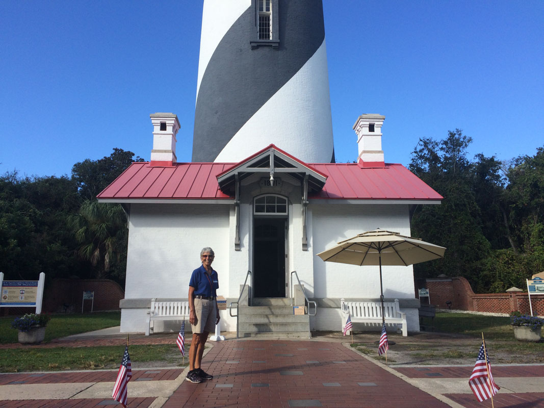 november at the st augustine lighthouse