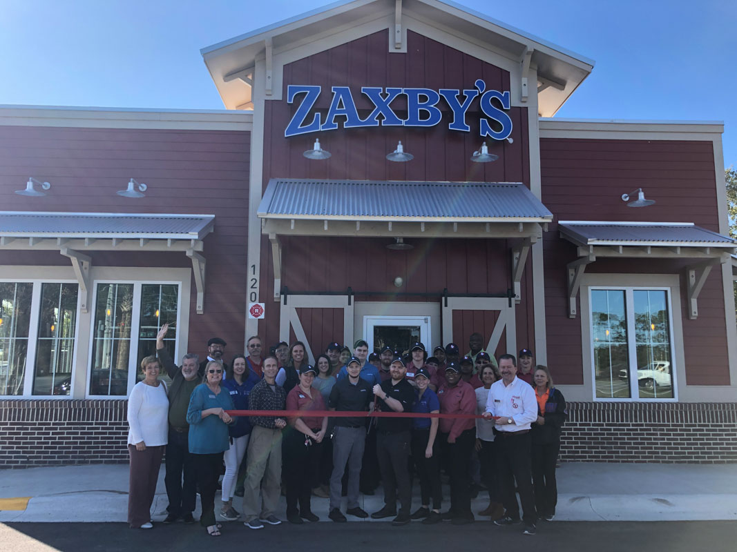 zaxby's st augustine grand opening