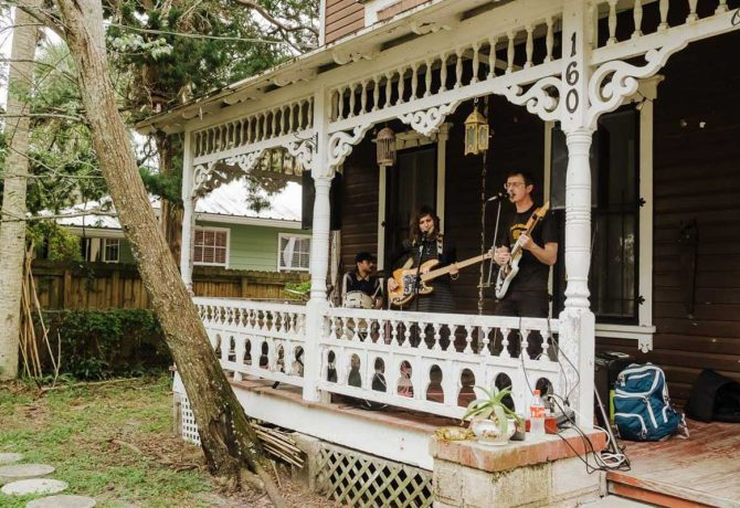 performers at lincolnville porch fest