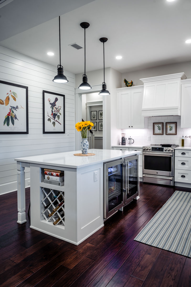 kitchen of longleaf house in st johns county Florida