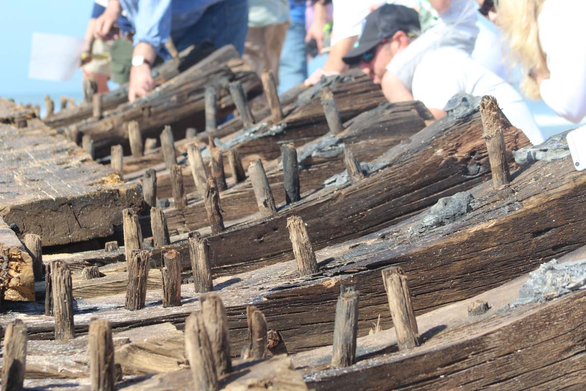 preservation efforts for a shipwreck in st augustine florida