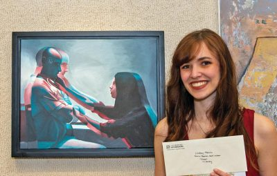 best in show winner at the st augustine art association cutting edge exhibition