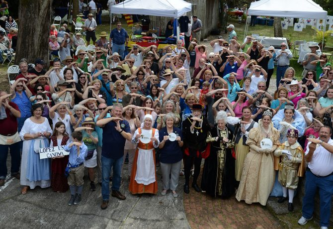 guests at the menorcan heritage celebration in 2016
