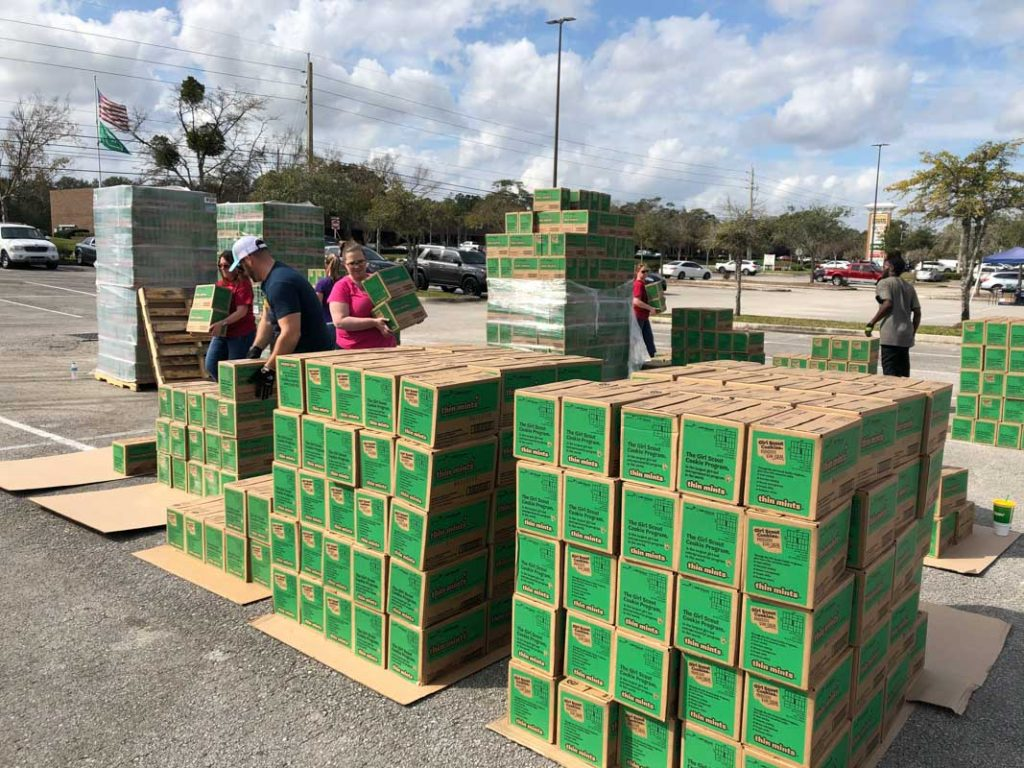 thin mints dropped for girl scout cookie season 2020