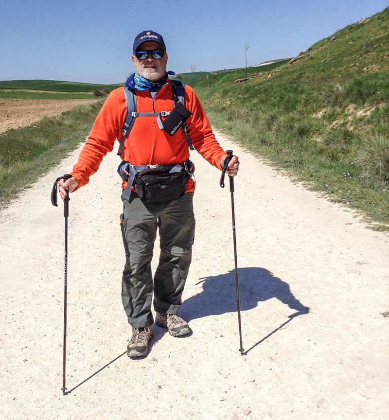 rick mcallister on a camino in spain
