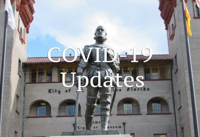 covid 19 updates for st augustine florida