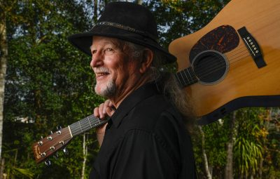 st augustine musician gary lee wingard with his guitar
