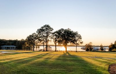 outdoors at lake blackshear resort