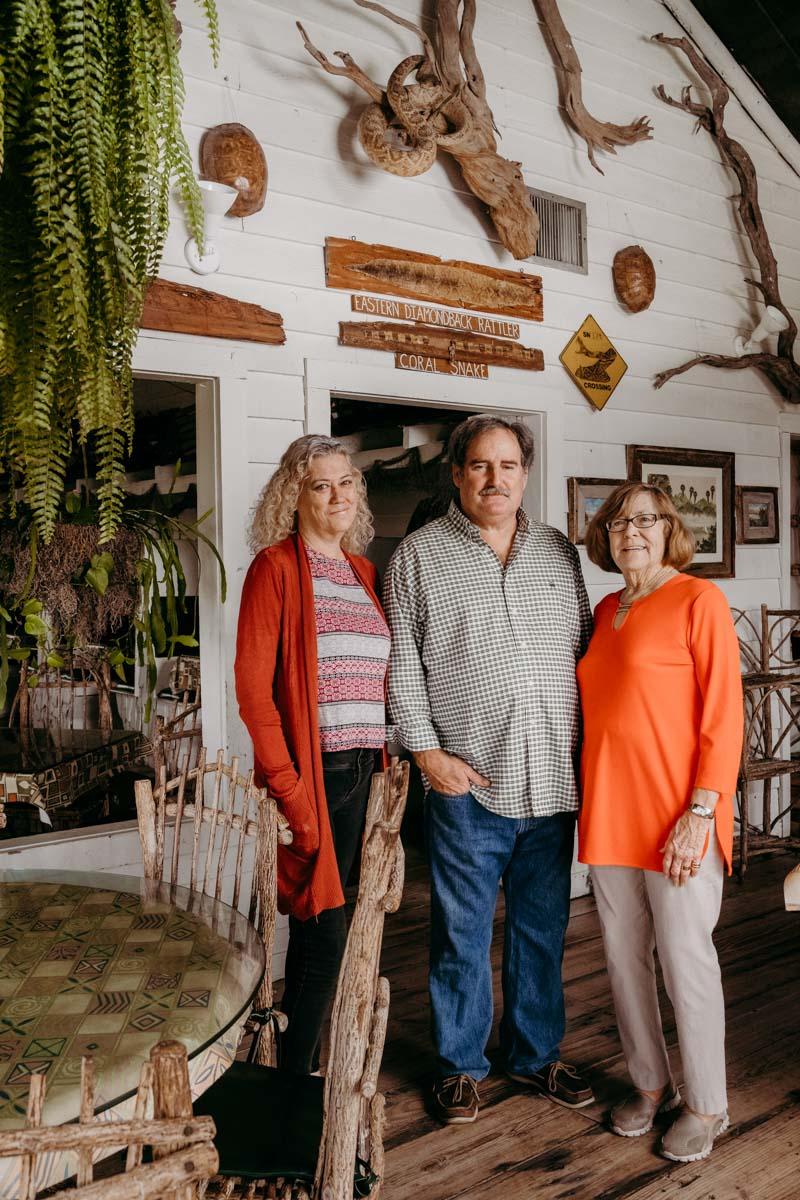 the owner, manager, and chef at saltwater cowboys