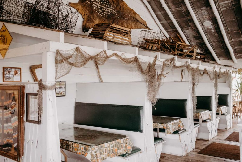 the interior of saltwater cowboys
