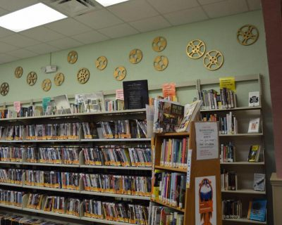 interior of the Hastings library branch in st johns county Florida