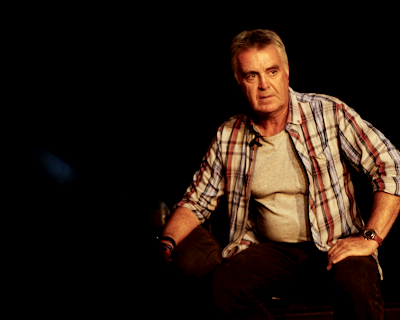 tim marriott in his play shell shock