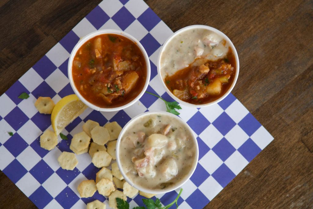 chowders at st augustine seafood company