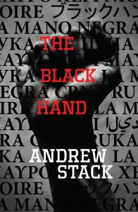 the cover of the novel the black hand