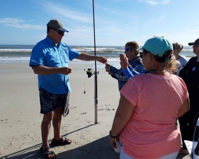 fishing pro teaches anglers at the guy harvey resort outpost angler academy