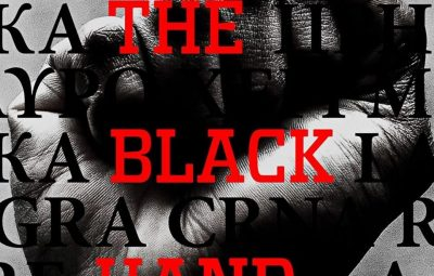 cover of the black hand by andrew sack