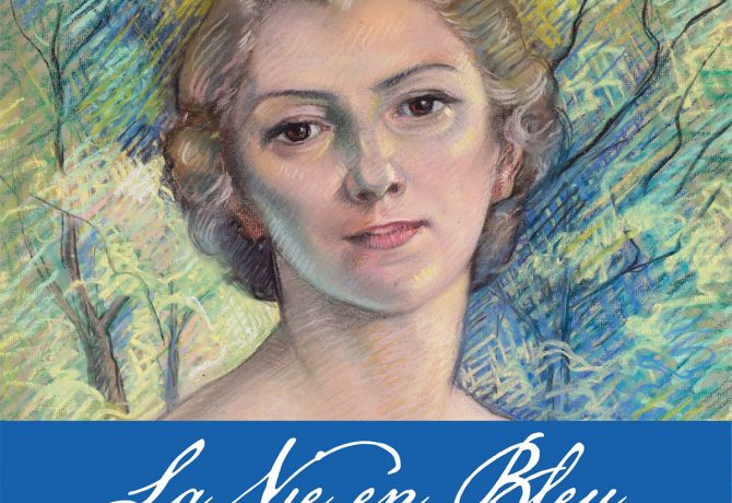 la vie en blue Marguerite Castaing exhibit at St. Augustine Art Association