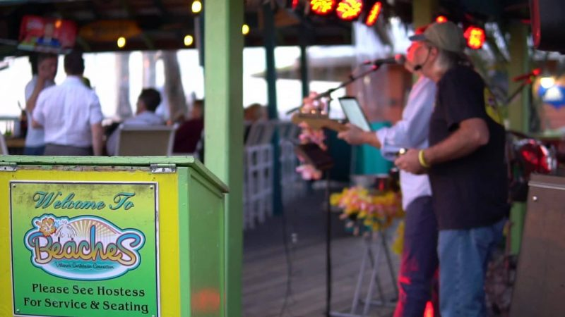Live music in St. Augustine at Beaches at Vilano