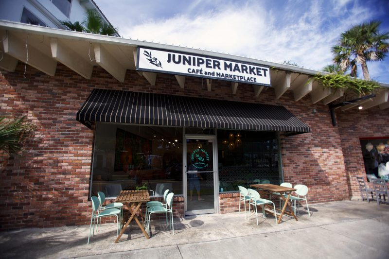 Juniper Market in St. Augustine reopens in larger location.