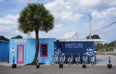 Drifters Out Post location in St. Augustine Beach.